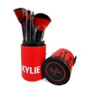Набор кистей для макияжа KYLIE в тубусе