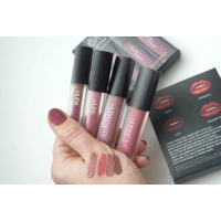 Матовый блеск для губ HUDA BEAUTY LIQUID MATTE MINIS Nude Love Collection