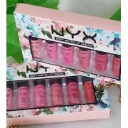 Набор матовых блесков  NYX Soft Matte Lip Cream