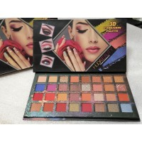 Палетка теней  NUDE BEAUTY 3D EYESHADOW PALETTE 32 оттенка