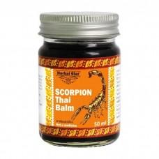 Тайский бальзам 50 мл. Хербал Стар (HERBAL-STAR Scorpion Thai Balm) Тайланд.