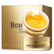 Гидрогелевые золотые патчи Beauty Golden Create Firm Eye Beautyм