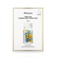 КОРЕЯ!!Восстанавливающая маска JM Solution Derma Care Ceramide Aqua Capsule Mask Medi